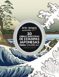 30 obras maestras de estampas japonesas para colorear