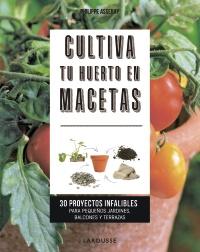 Cultiva tu huerto en macetas