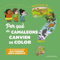 Per què els camaleons canvien de color?